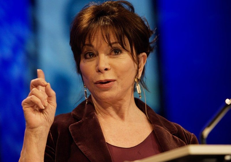 Chilean-American novelist Isabel Allende