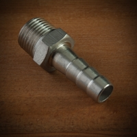 "0.5"" NPT to 0.375"" Barb Adapter"