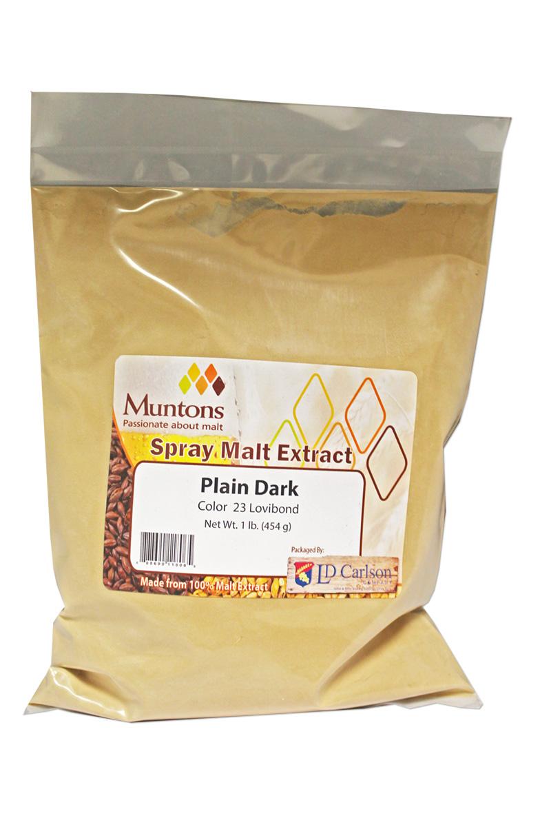 Muntons Plain Dark Dme - 3 Lb