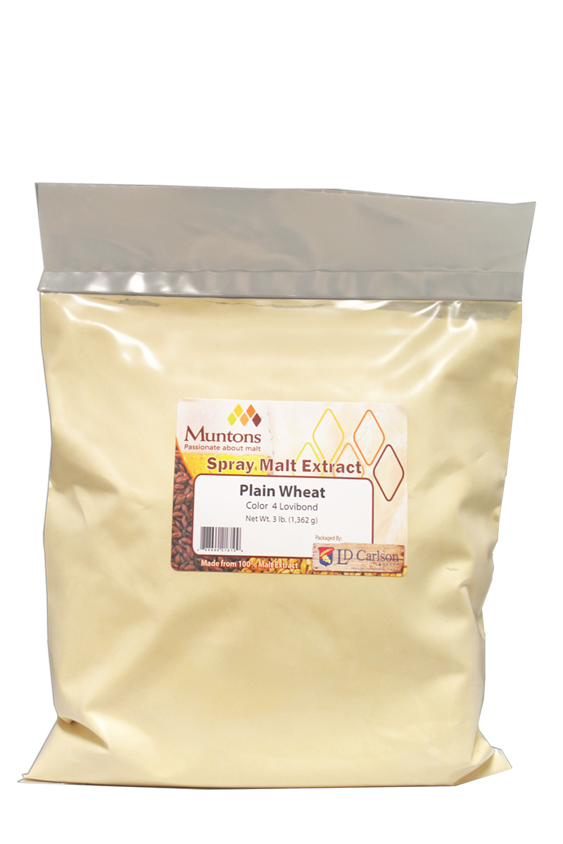 Muntons Plain Wheat Dme - 3 Lb