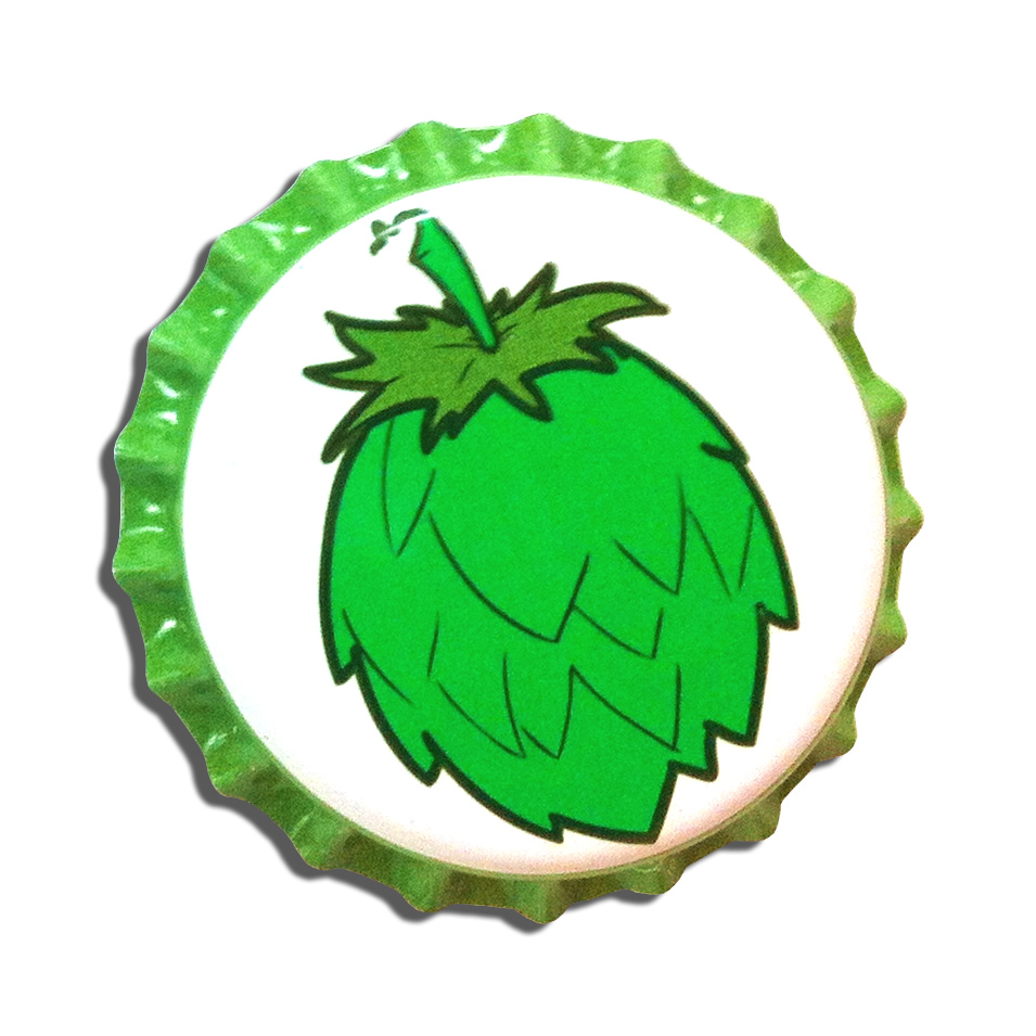 HOP CONE CROWN CAPS - 144 PK