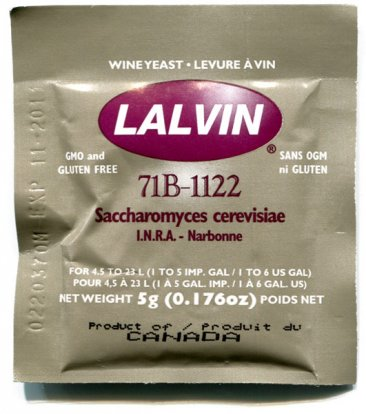 71B - WHITE WINE YEAST