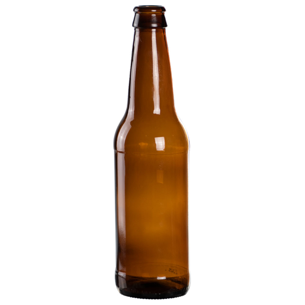 12 OZ AMBER BEER BOTTLES - 24 CASE