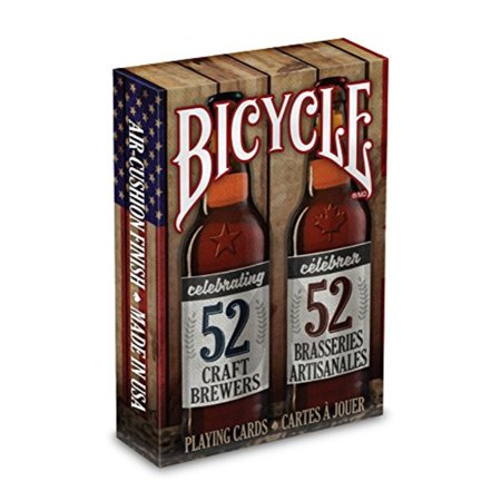Bicycle® Craft Beer Spirit Of North America