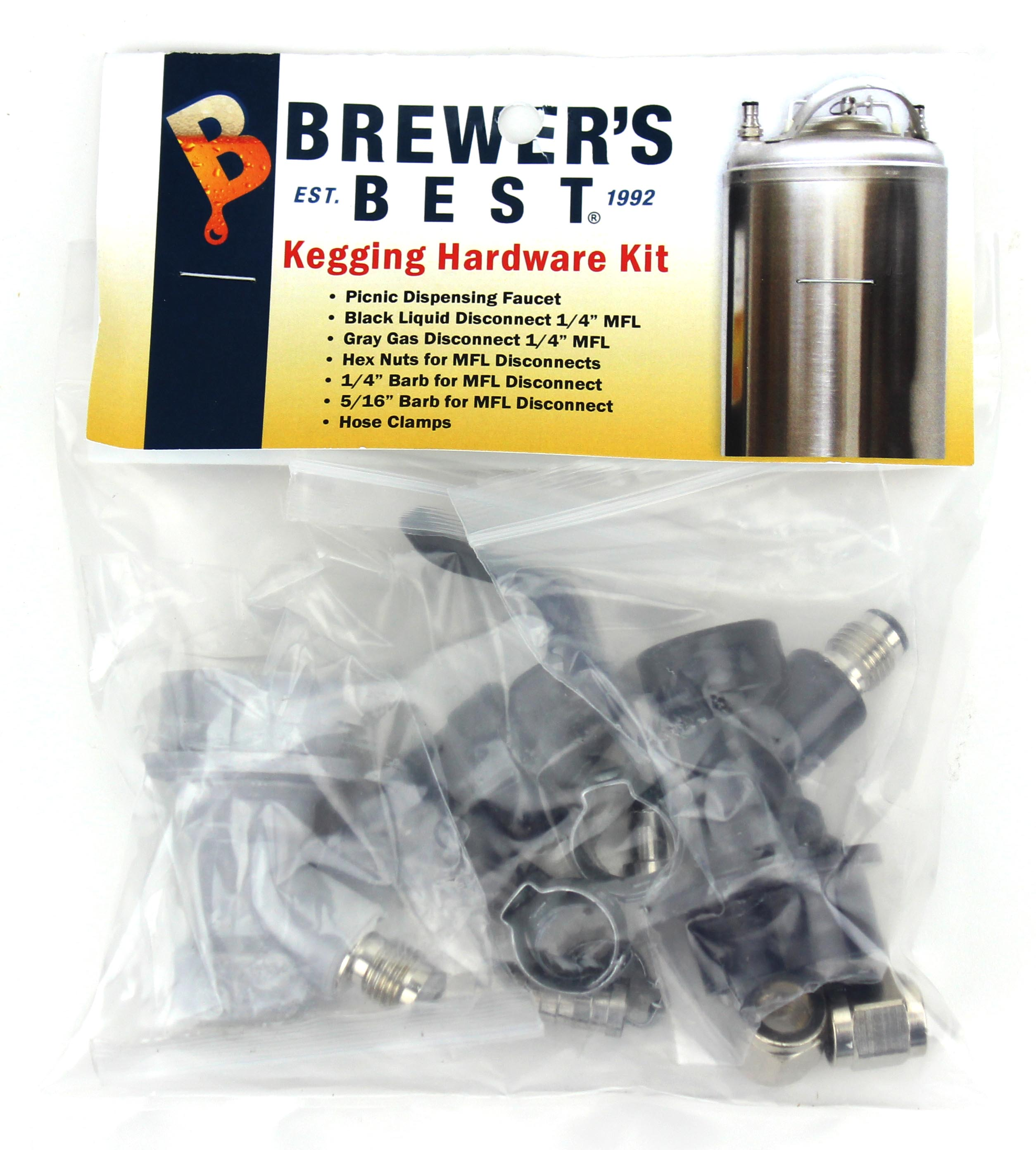 Brewer's Best Kegging Hardware