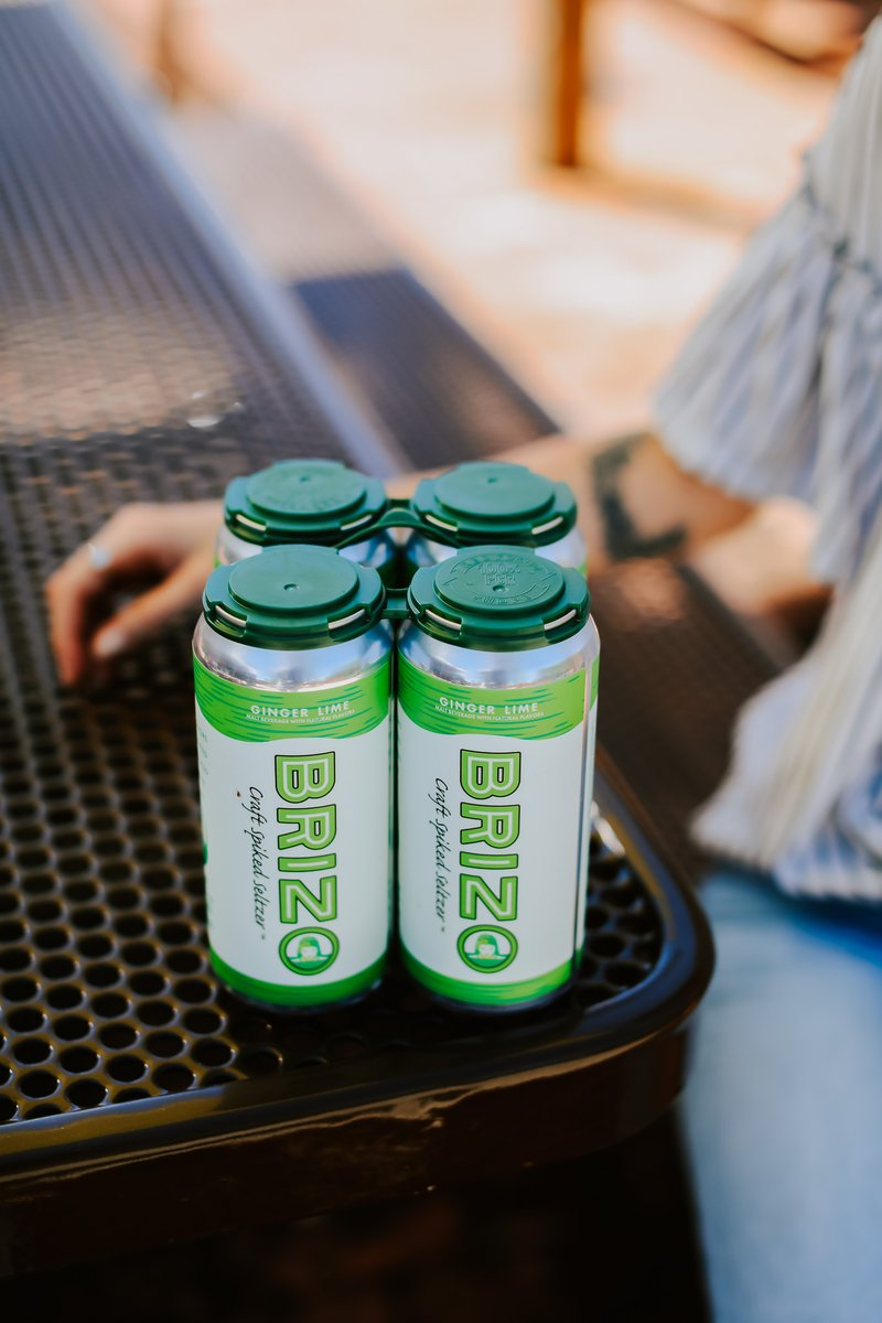 Brizo Seltzer Ginger Lime - 4-pack