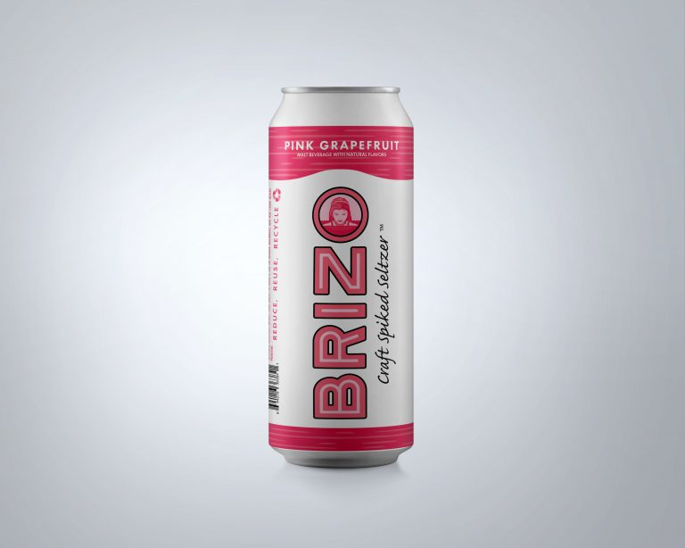 Brizo Seltzer Pink Grapefruit - 4-pack