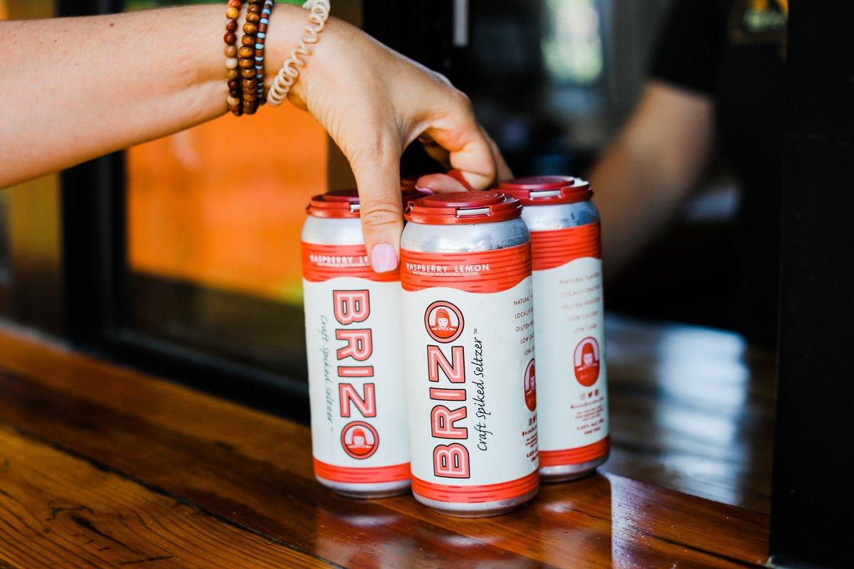 Brizo Seltzer Raspberry Lemon - 4-pack