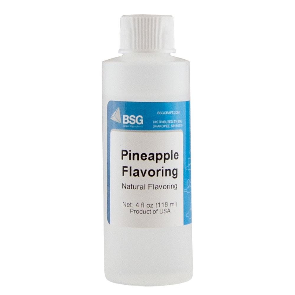 Bsg Pineapple Flavoring 4 Oz