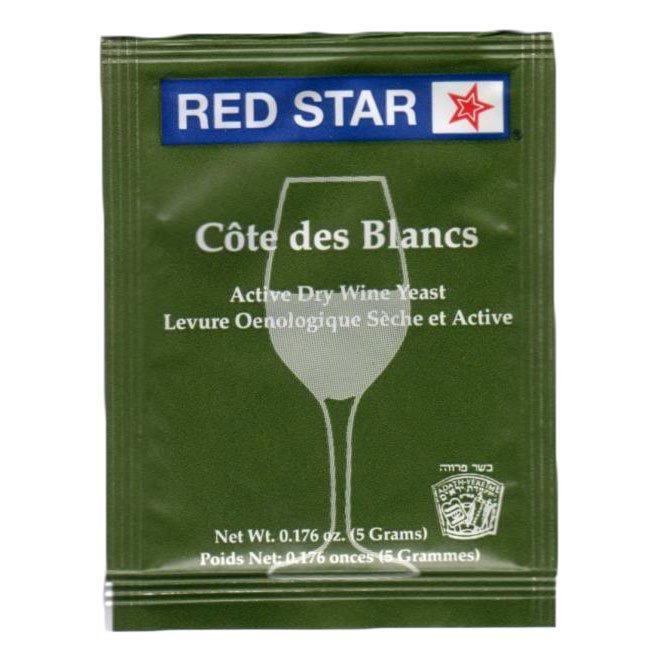 COTE DES BLANCS - WHITE WINE YEAST