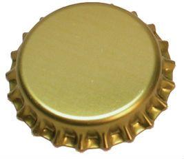 Gold Crown Caps - 144 Pk