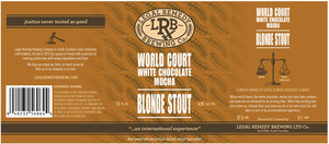WORLD COURT MOCHA BLONDE STOUT - SINGLE