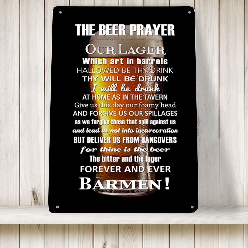 Sign - Beer Prayer