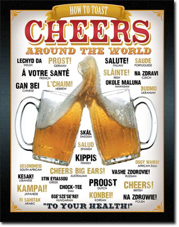 Sign - Cheers Around The World