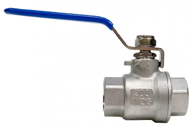 Stainless steel 1/2'' ball valve