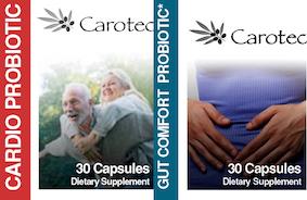 Carotec's Cardio & Gut Probiotics