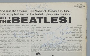 "Authenticated ""Thanks for the JABS"" Meet The Beatles Album – Oct. 1st Auction"