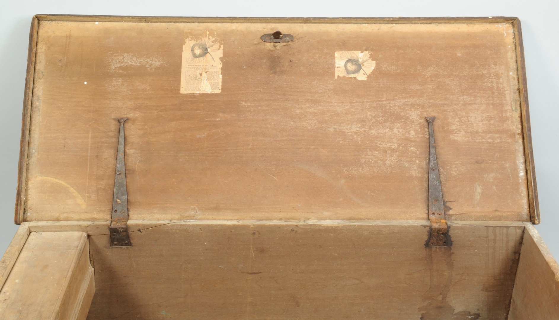 Lot 81: Wythe County, VA Paint Decorated Blanket Chest