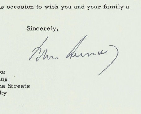Lot 260: President John F. Kennedy Civil Rights letter