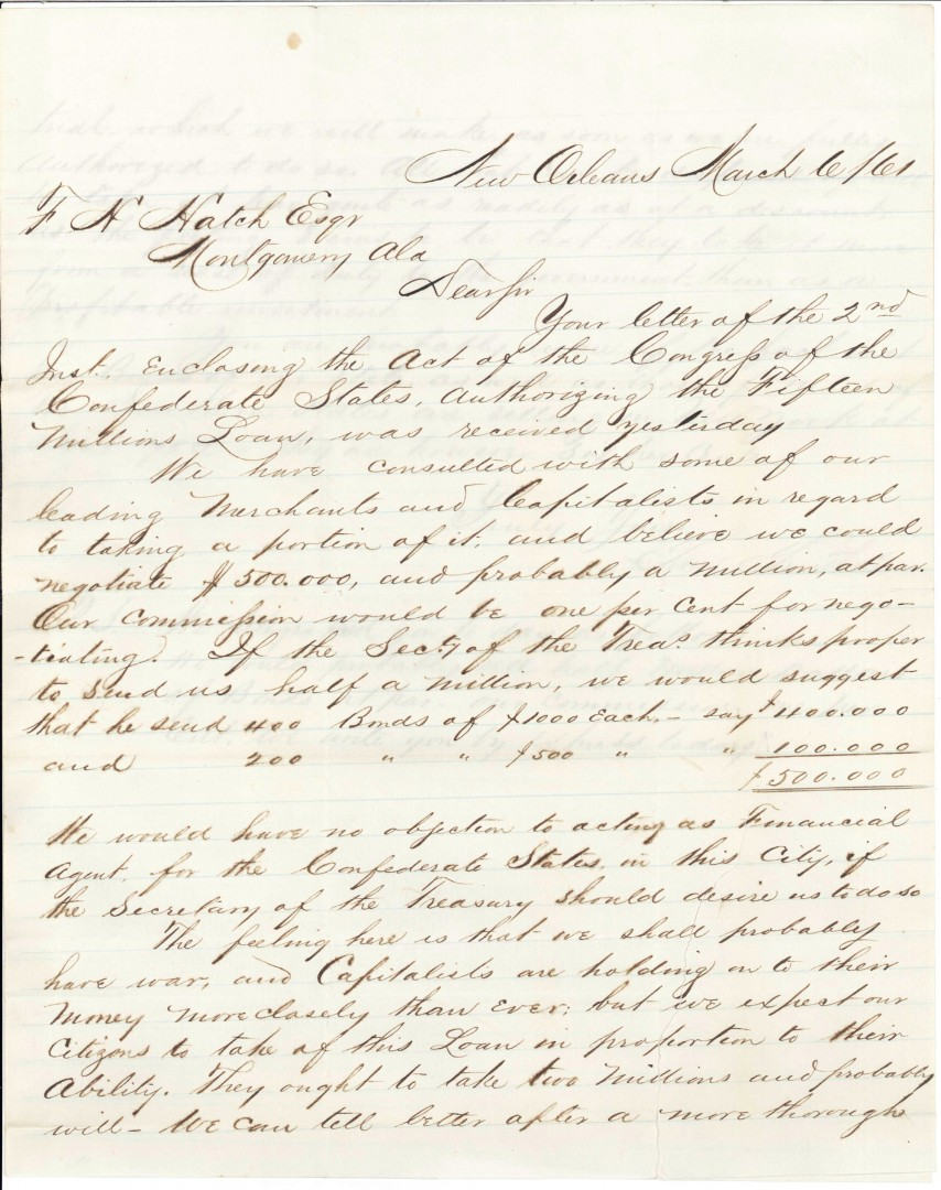 Lot 80: General Benjamin Butler archive relating to confis