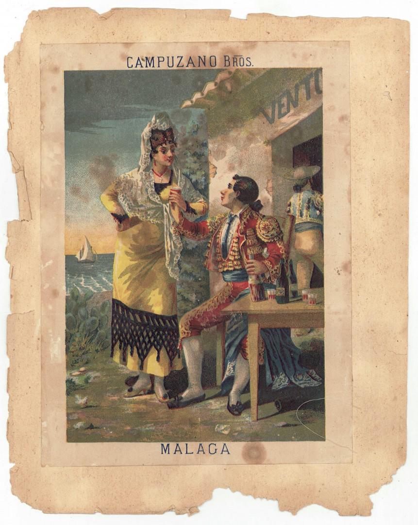 Lot 700: Victorian Scrapbook with Vintage Ads, TN Interest
