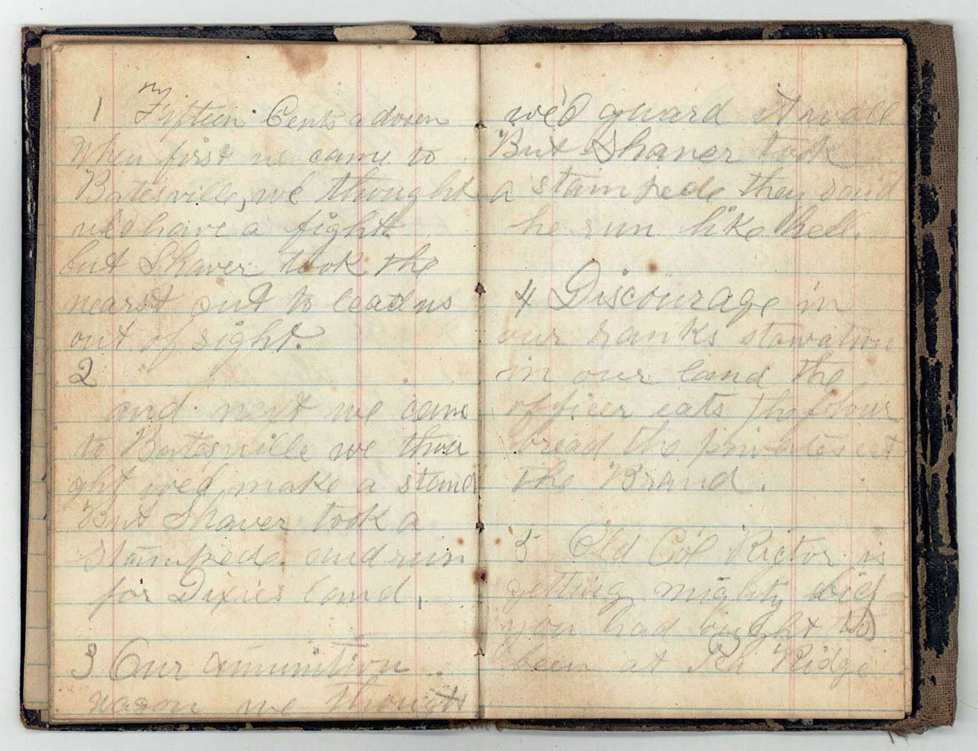 Lot 127: Large Civil War Archive of Letters, 3rd Regiment M