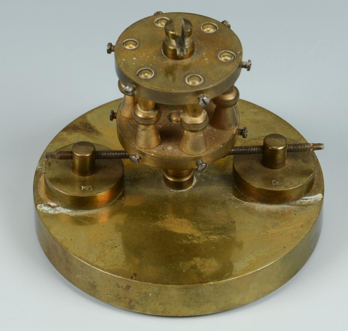 Lot 244: Angemeldet Patent Rotary Pendulum Clock