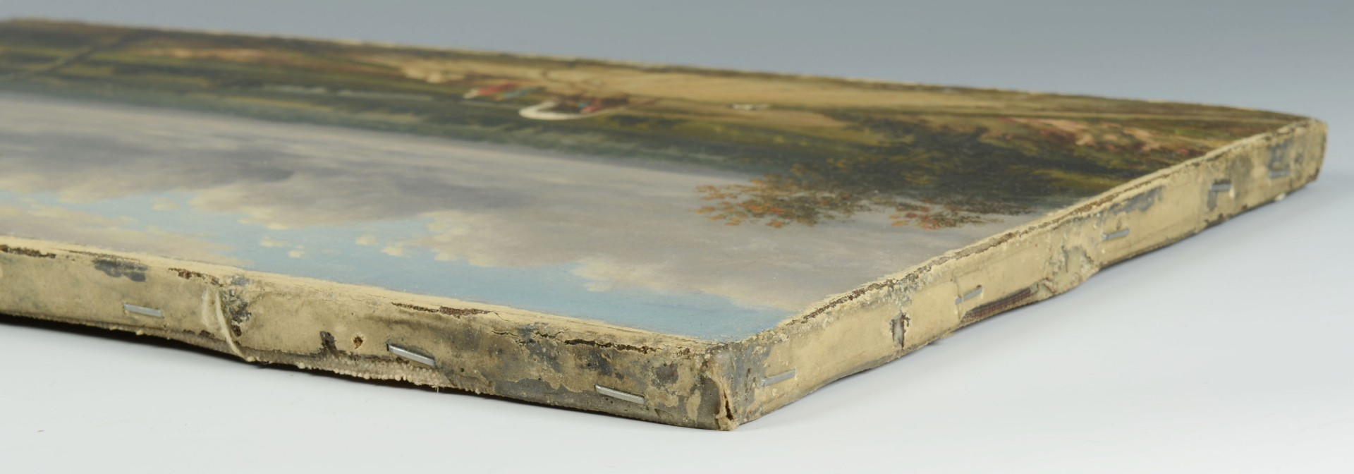 Lot 48: Manner of Conrad Chapman, landscape with covered w