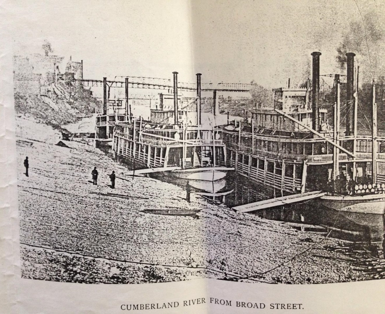 Lot 55: Cornelius Hankins o/b, Nashville Bridge