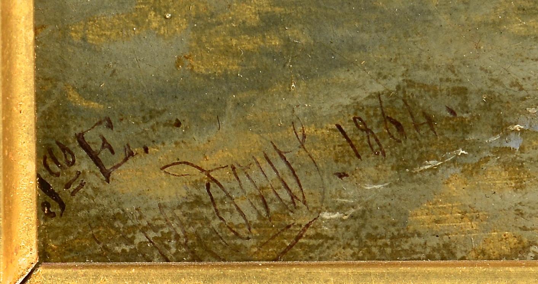 Lot 213: James Edwin Meadows Seascape Oil