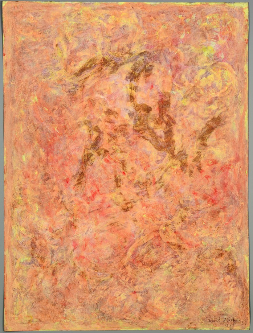 Lot 438: Beauford Delaney Estates, Abstract(s) on Paper
