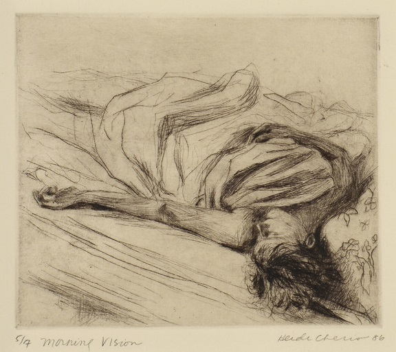 Lot 560: 2 Etchings, Degas and Cheris