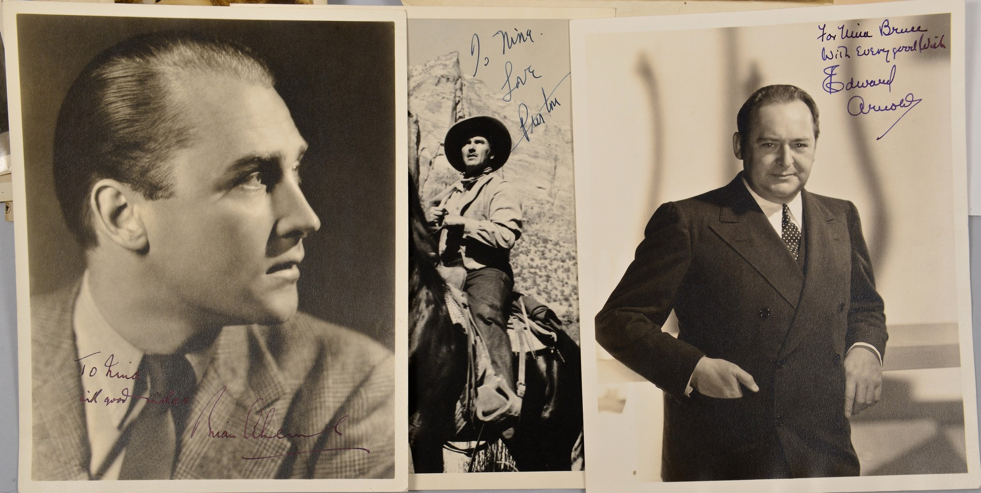 Lot 840: Collection of Hollywood Autographs