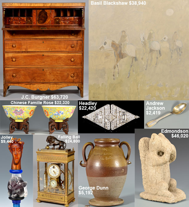 July 18, 2015 Auction – Highlights
