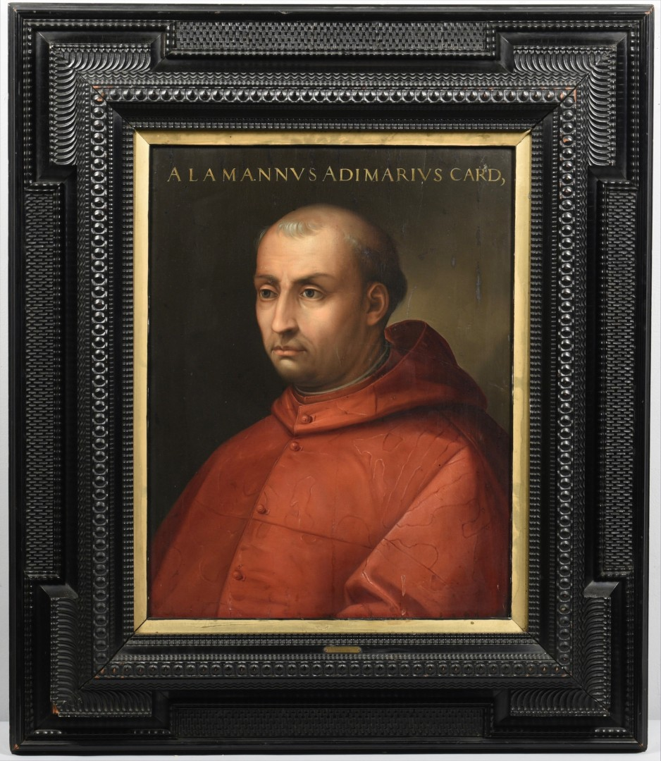 Lot 98: Follower of Cristofano dell'Altissimo, Portrait of