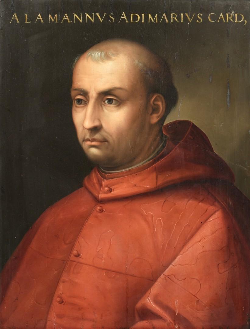 Lot 98: Follower of Cristofano dell'Altissimo, Portrait of