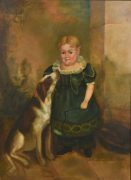 Portrait of young E.D. Hicks II (lot 215)