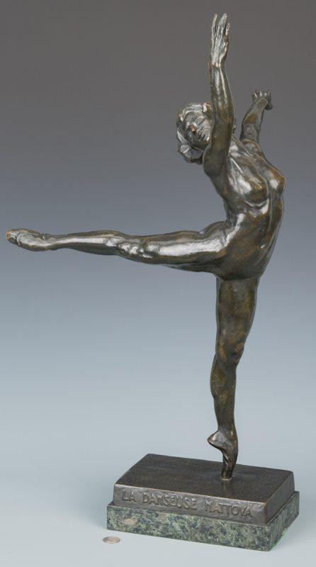 S. Yourievitch Bronze Ballerina