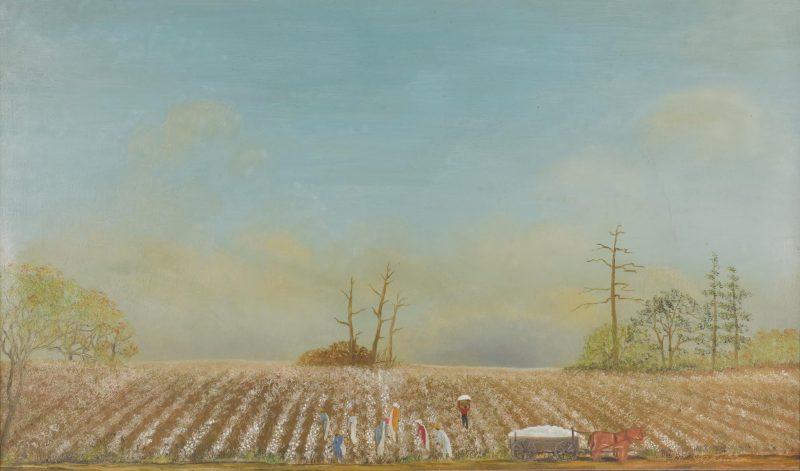 Helen LaFrance, O/C, Cotton Field