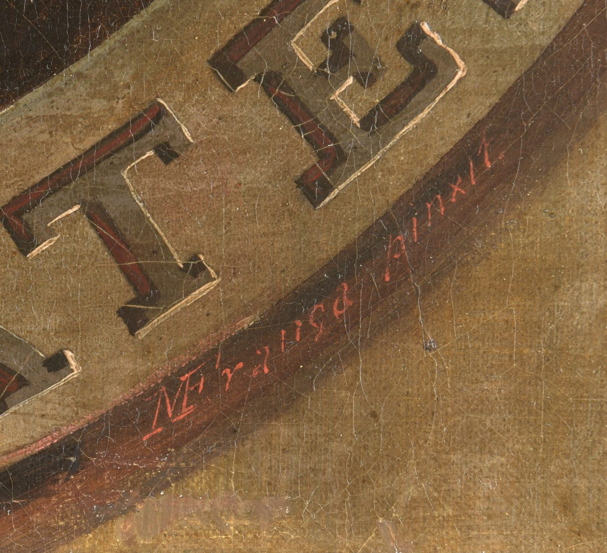 Lot 170: M. De Franca 19th c. oil of George Washington
