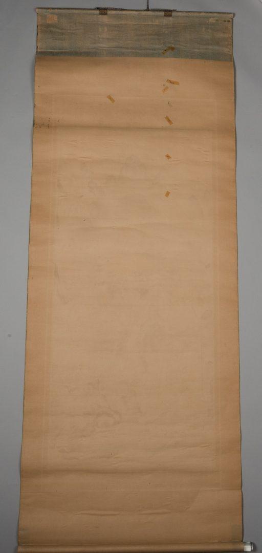 Lot 17: Buddhist T'aenghwa Scroll