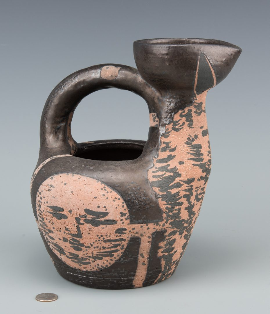 "Lot 403: Picasso Ceramic Vessel ""Centaur Au Visages"""