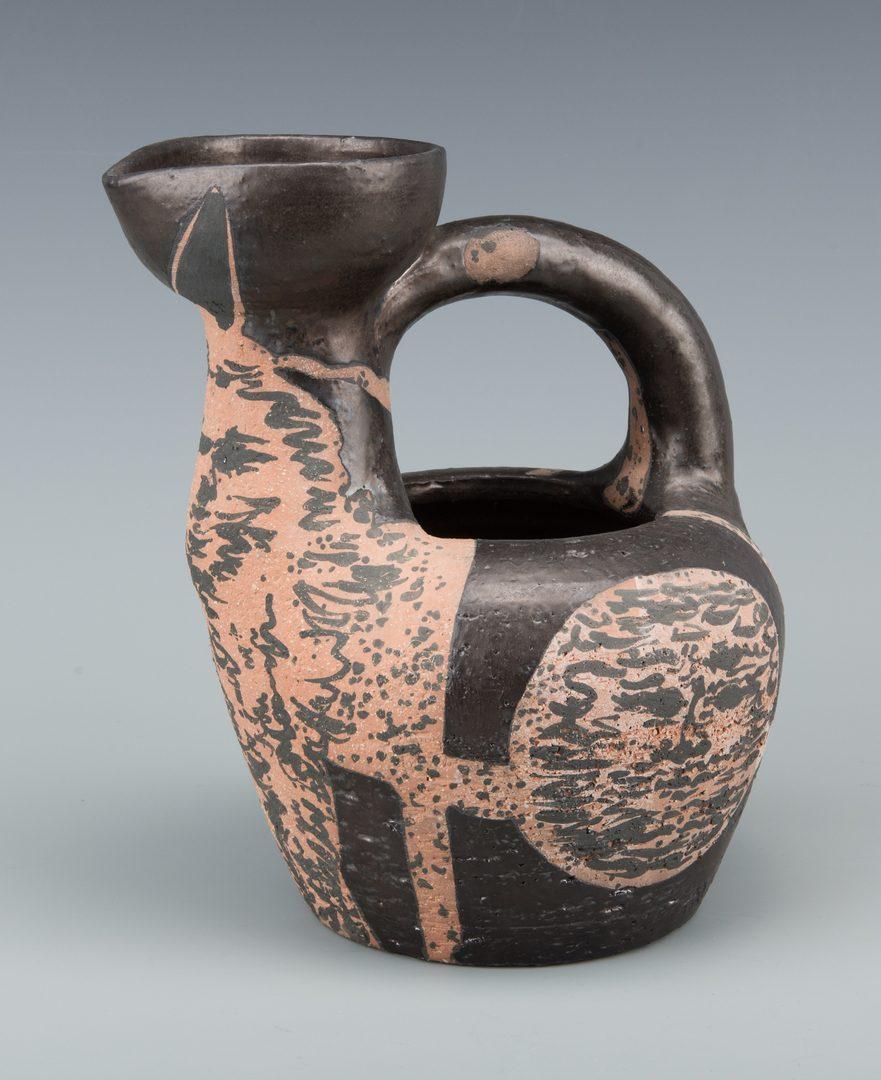 "Lot 403: Picasso Ceramic Vessel ""Centaur Au Visages"""