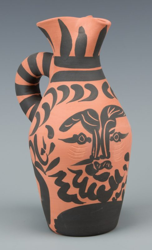 "Lot 405: Picasso Ceramic Vessel ""Yan Barbu"""