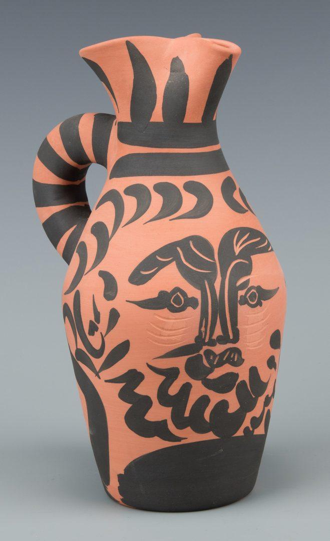 "Lot 405: Picasso Ceramic Vessel ""Yan Barbu"""