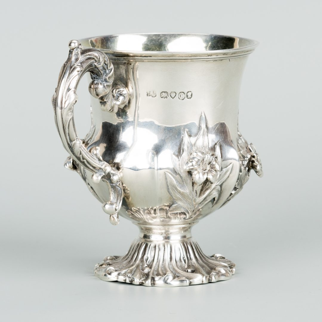 Lot 745: Tiffany, La Paglia, Barnard Sterling Hollowware, 8 pcs