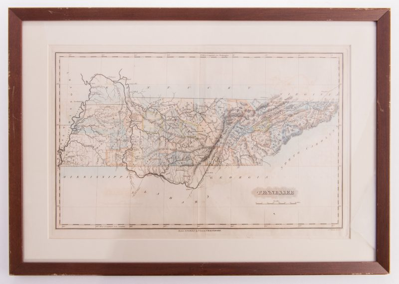 Lot 194: TN Map 1822, Lucas, Welch