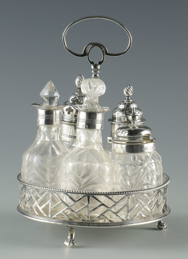 Lot 684: Group English Sterling & Related, 8 items