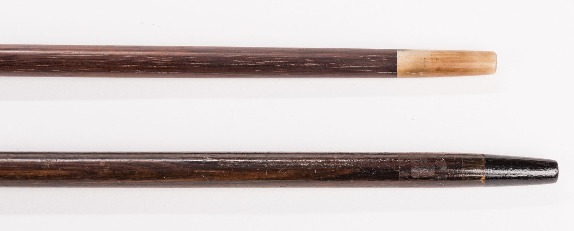 Lot 717: 2 Asian and American Silver Walking Sticks