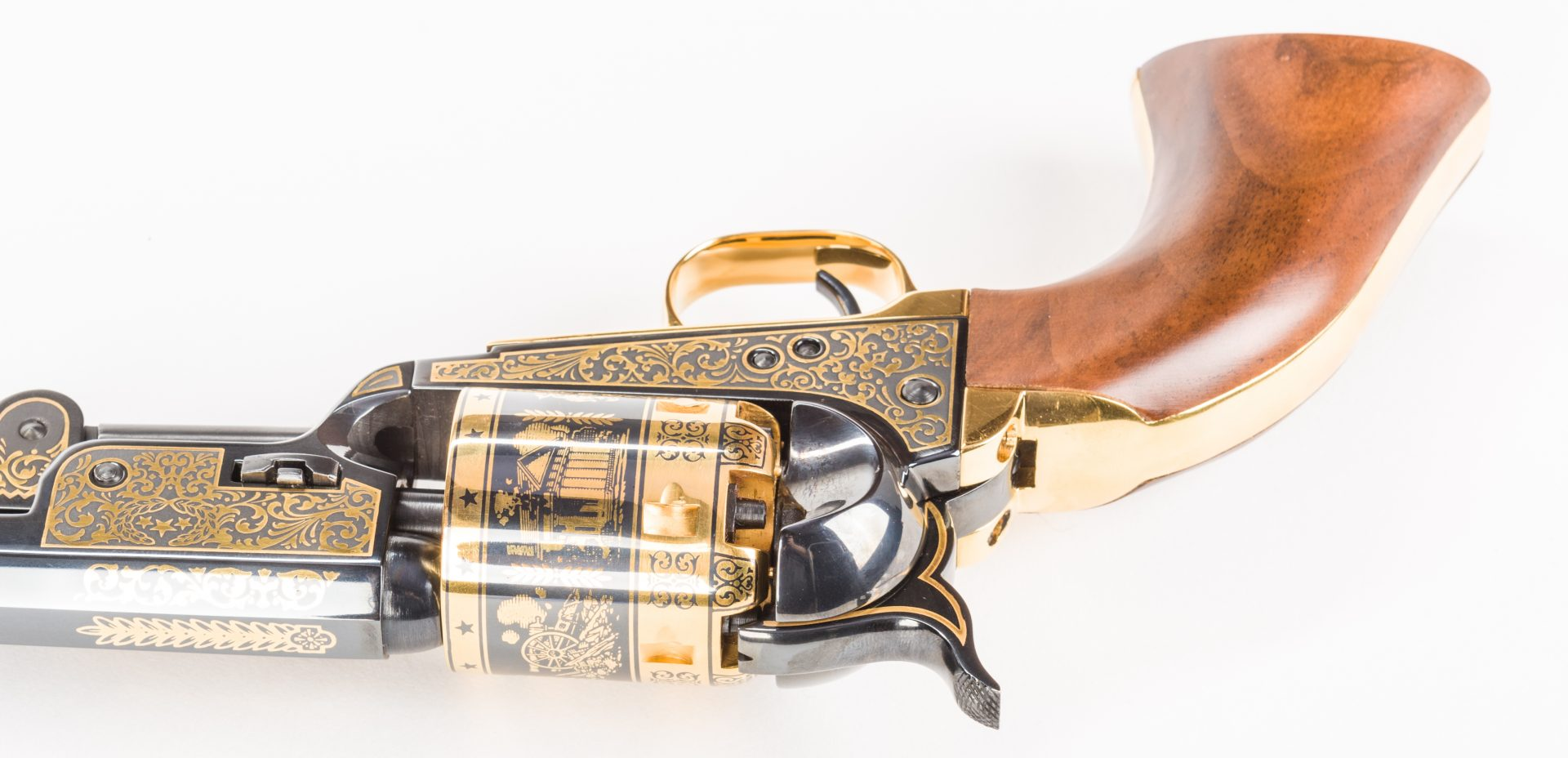 Lot 223: Robert E. Lee Commemorative Pistol, U.S. Historical Society